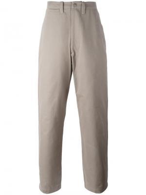 Широкие брюки Field E. Tautz. Цвет: серый