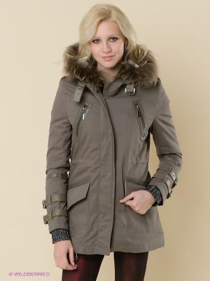 Куртка Relish. Цвет: серый