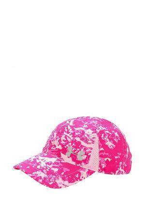 Бейсболка Under Armour. Цвет: розовый