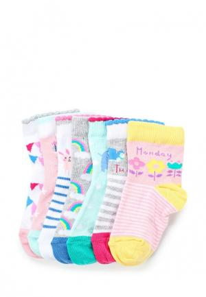 Комплект носков 7 пар Marks & Spencer. Цвет: разноцветный