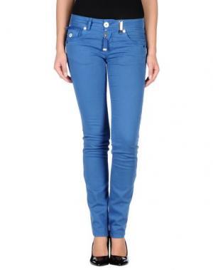 Повседневные брюки HIGH. Цвет: синий