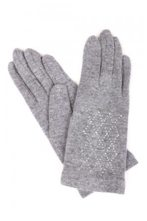 Перчатки Roeckl. Цвет: серебристый
