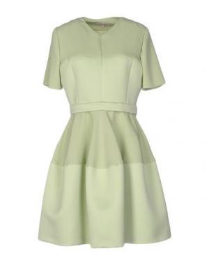 Короткое платье DICE KAYEK. Цвет: светло-зеленый