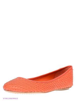 Балетки ASH. Цвет: коралловый