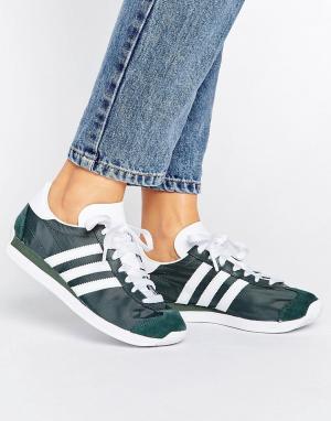 Adidas Кроссовки Country OG. Цвет: зеленый