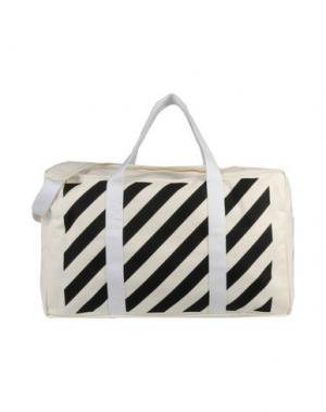 Дорожная сумка OFF WHITE C/O VIRGIL ABLOH. Цвет: белый