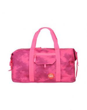 Дорожная сумка PUMA. Цвет: фуксия