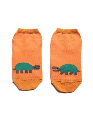 Носки укороченные Big Bang Socks. Цвет: оранжевый