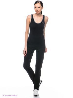 Брюки ESS Jersey Pants Puma. Цвет: черный