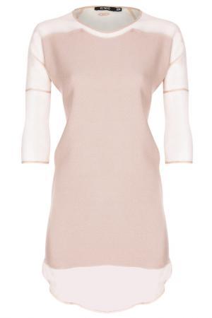 Платье C.N.C.. Цвет: розовый