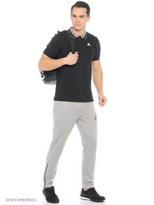 Футболка-поло ESS Polo Adidas. Цвет: черный, белый