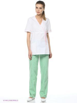 Брюки медицинские Med Fashion Lab. Цвет: светло-зеленый