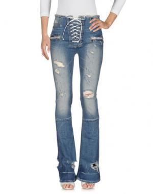 Джинсовые брюки BEN TAVERNITI™ UNRAVEL PROJECT. Цвет: синий