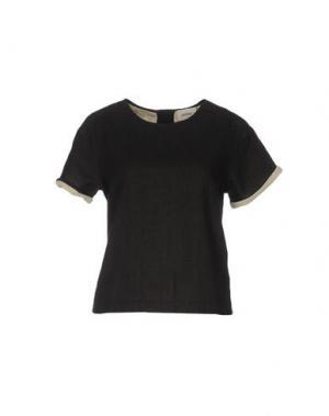 Блузка POLDER. Цвет: черный