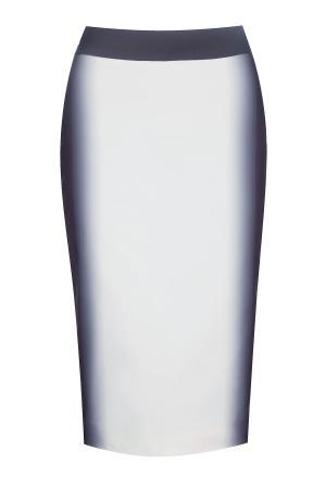 Юбка KYE. Цвет: белый