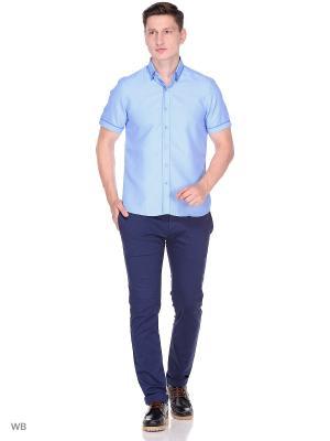 Рубашка CARAT.. Цвет: голубой, сиреневый
