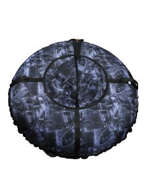 Санки надувные Ватрушка Метиз. Цвет: черный