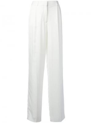 Классические широкие брюки Tom Ford. Цвет: белый