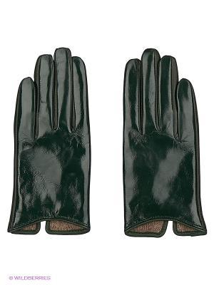 Перчатки женские Sabellino. Цвет: темно-зеленый