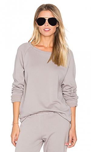 Классический пуловер oswald Michael Lauren. Цвет: серый