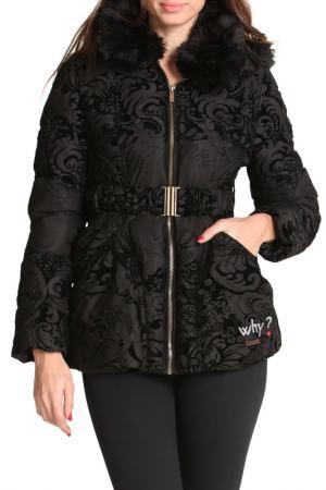 Куртка Desigual. Цвет: черный