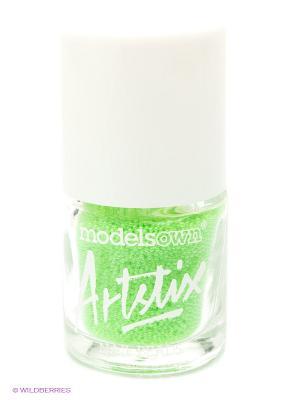 Шарики для ногтей, Neon Green Models Own. Цвет: салатовый