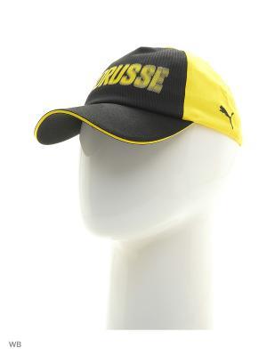 Бейсболка BVB Borusse Cap Puma. Цвет: черный, желтый