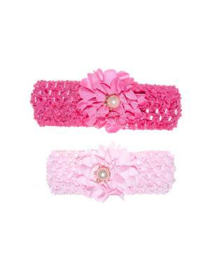 Ободок(2 штуки) Bizon. Цвет: малиновый, розовый