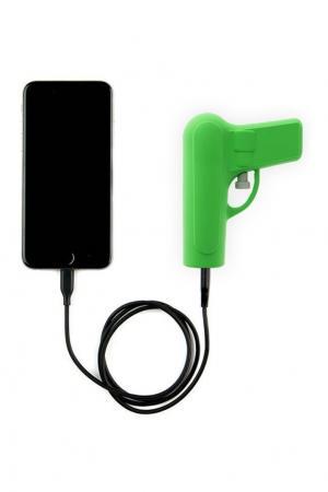 Аккумулятор Gun Mojipower. Цвет: зеленый