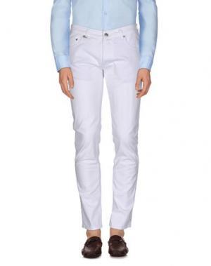 Повседневные брюки DW⁵. Цвет: белый