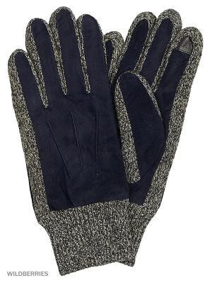 Перчатки Mascotte. Цвет: синий