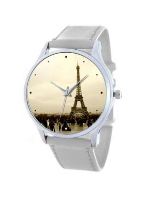 Дизайнерские часы Париж Tina Bolotina. Цвет: серый, светло-серый, белый