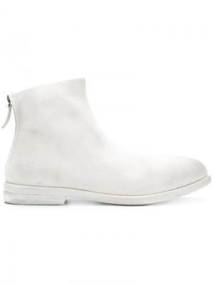 Zipped boots Marsèll. Цвет: белый