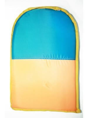 Санки-ледянки 60x40см, прямоугольные KONONO. Цвет: оранжевый