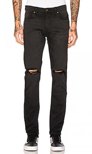 Облегающие джинсы thin captain ROLLAS ROLLA'S. Цвет: none