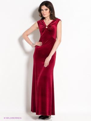 Платье Marlen. Цвет: бордовый