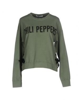 Толстовка CHILI PEPPERS. Цвет: зеленый-милитари