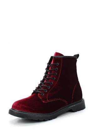 Ботинки Martin Pescatore. Цвет: бордовый