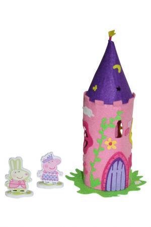 Шьем волшебный замок Пеппы Peppa Pig. Цвет: голубой