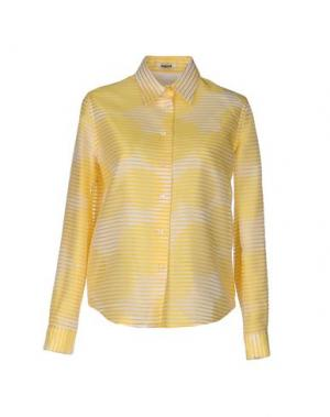 Pубашка JOURDEN. Цвет: желтый