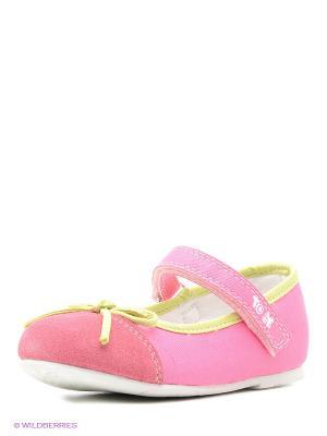 Балетки CHICCO. Цвет: розовый