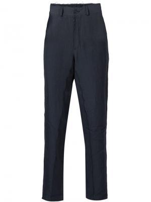 Укороченные брюки Damir Doma. Цвет: синий