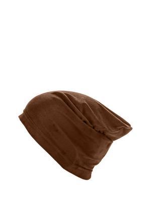 Шапка жен. Sahera Rahmani. Цвет: коричневый