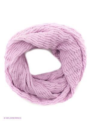 Снуд FOMAS. Цвет: бледно-розовый