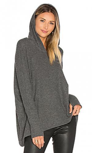 Пуловер с капюшоном dash Michael Lauren. Цвет: уголь