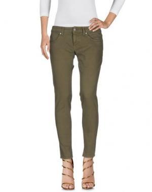 Джинсовые брюки ANTONY MORATO. Цвет: зеленый-милитари