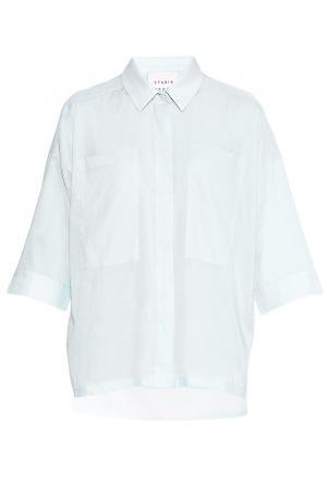 Рубашка из хлопка PG-180635 Studia Pepen. Цвет: синий