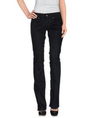 Джинсовые брюки EXTE. Цвет: черный
