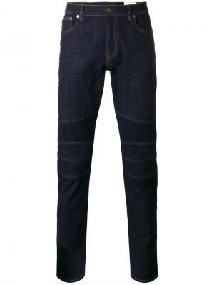 Байкерские джинсы Belstaff. Цвет: синий