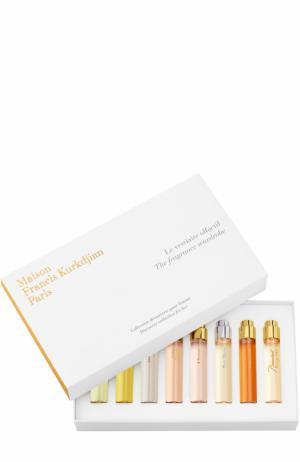 Набор рефиллов Le Vestiaire Olfactif Pour Femme Maison Francis Kurkdjian. Цвет: бесцветный